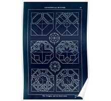 A Handbook Of Ornament With Three Hundred Plates Franz Sales Meyer 1896 0035 Geometrical Elements Octogon Subdivision Inverted Poster