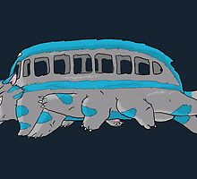 Cheshire no totoro - run - Tim Burton version by ArryDesign