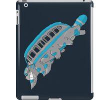 Cheshire no totoro - run - Tim Burton version iPad Case/Skin