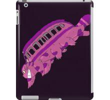 Cheshire no totoro - run iPad Case/Skin