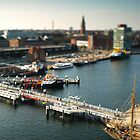 Kiel from above by Hilthart Krogh Pedersen