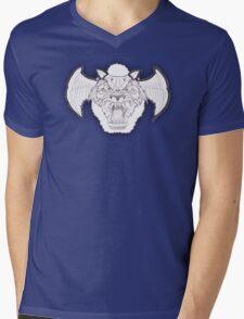 Airwolf Retro Mens V-Neck T-Shirt