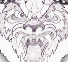Airwolf Retro Sticker