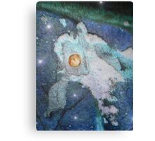 Protected world - natural world - blue fantasy Canvas Print