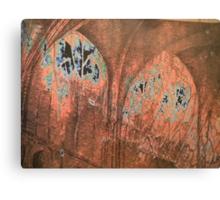 church windows - natural world Canvas Print