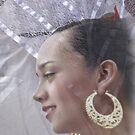 Folklorico dancing dress by Linda Sparks