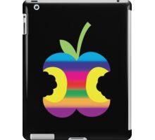 Rainbow half eaten apple iPad Case/Skin