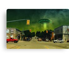 With the Storm Canvas Print