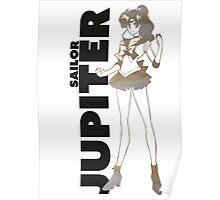 Sailor Jupiter PlanetScape Decal Poster