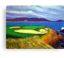 Seven at Pebble Beach Canvas Print