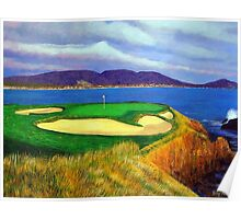 Seven at Pebble Beach Poster