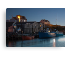 Harbour At Peggy's Cove Canvas Print