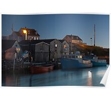 Harbour At Peggy's Cove Poster