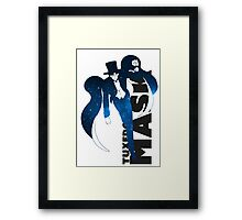 Tuxedo Mask PlanetScape Decal Framed Print