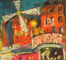 Moulin Rouge by christine purtle