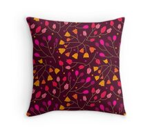 Floral seamless pattern. Flowers Throw Pillow