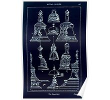 A Handbook Of Ornament With Three Hundred Plates Franz Sales Meyer 1896 0423 Metal Objects Hand Bell Inverted Poster