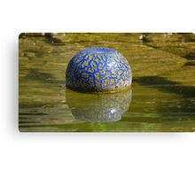 Chuhily Ball on the water Canvas Print
