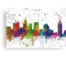 Atlanta, Georgia Skyline Canvas Print