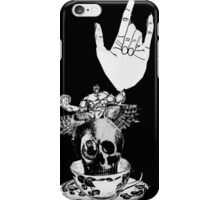 The Incredible, Teapot riding, Three-eyed winged Hulkskull iPhone Case/Skin