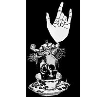 The Incredible, Teapot riding, Three-eyed winged Hulkskull Photographic Print