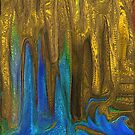 PLANET OF GOLDEN CAVES`  by Sherri Palm Springs  Nicholas