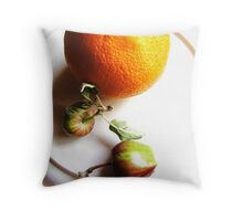 Little Apples Throw Pillow