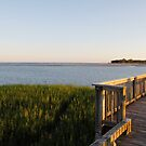 Pier at Frip by Jay Reed
