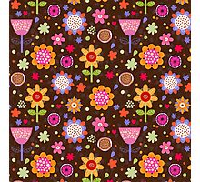 Floral colourful seamless pattern Photographic Print