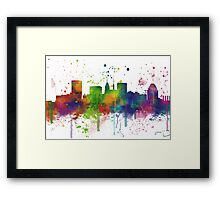 Baltimore, Maryland Skyline Framed Print