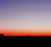 Twilight in the Outback - Oakey Qld Australia by Beth  Wode