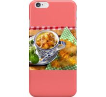 Bavarian Macaroni With Cheese and Crispy Cheese Cookie iPhone Case/Skin