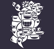 Happy Squiggles - 1-Bit Oddity - White Version Unisex T-Shirt