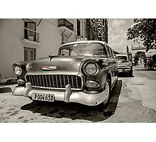 Chevy Taxi  Photographic Print
