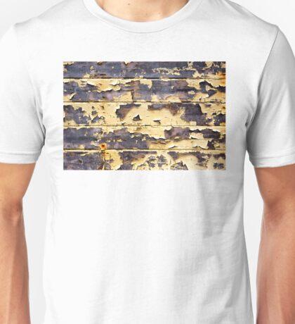 Peeling Yellow Paint Textures 75 Unisex T-Shirt