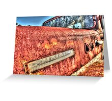 COMMER. Greeting Card