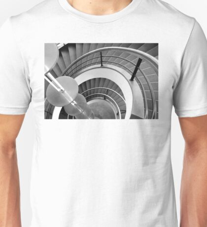 Curved Stairs Unisex T-Shirt