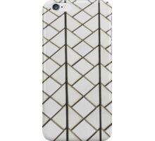 White tile pattern iPhone Case/Skin