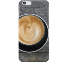 I'm running latte iPhone Case/Skin