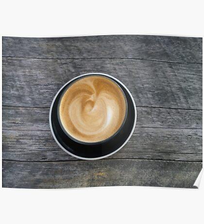 I'm running latte Poster