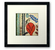 Retro Birdie Framed Print