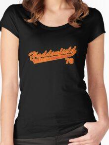 Haddonfield 2 Distress Women's Fitted Scoop T-Shirt