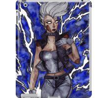 You afraid of a little thunder? iPad Case/Skin
