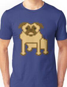 Pixelated Pug Unisex T-Shirt