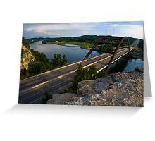 360 Bridge near sunset - 2010 Greeting Card