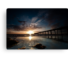 Largs Pier 2 Canvas Print