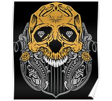 Diamond Skull Poster