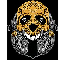 Diamond Skull Photographic Print