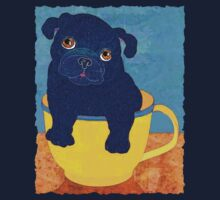 Teacup Pug by evisionarts