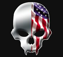 Stars and Stripes and Skulls Unisex T-Shirt